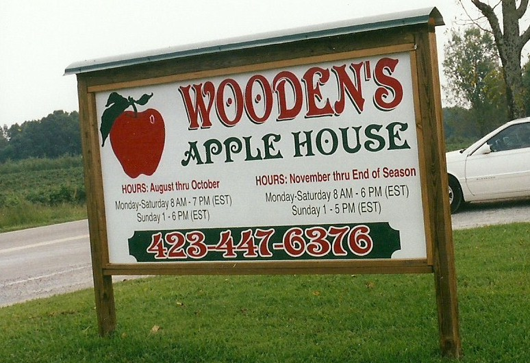 Woodens Apple House Contact Us